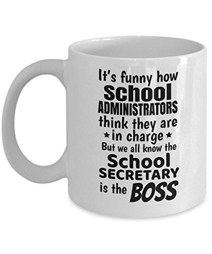 (Funny School Secretary Secretaries Coffee & Tea Gift Mug)