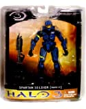 Halo 3 Mcfarlane Toys Series 1 Exclusive Action Figure BLUE Spartan Soldier [...
