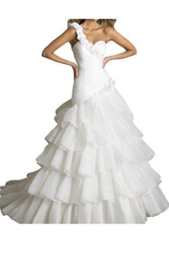 TOSKANA BRAUT - Vestido - trapecio - para mujer blanco 52