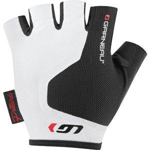 Louis Garneau Men's Mondo 2 Cycling Gloves, Black/White, XXX-Large - Louis Garneau Nylon Gloves