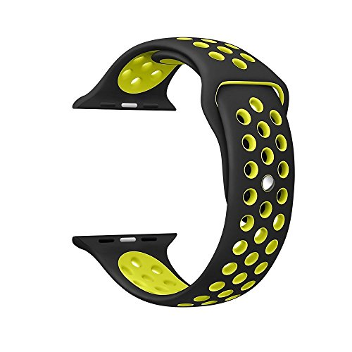 yearscase-42mm-soft-silicone-bracelet-sport-replacement-strap-wristband-with-ventilation-holes-for-a