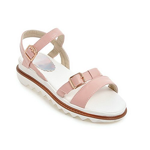BalaMasa Womens Non-Marking Structured Cold Lining Urethane Sandals ASL05121 Pink K3va2