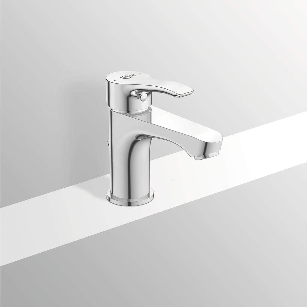 Cromo con Asta di Comando Scarico Ideal Standard BC647AA Alpha Miscelatore lavabo