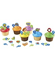 Learning Resources LER6804 ABC Party Cupcake Toppers (52 Piece)
