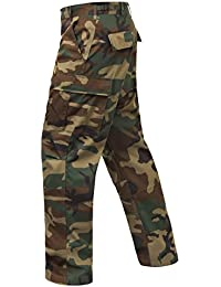 Relaxed Fit Zipper Fly BDU Pant