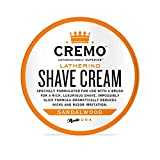 Cremo Lathering Shave Cream, Formulated for Use