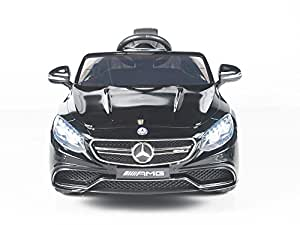 KidsVip - Exclusive Toys for Kids Limited Licensed Mercedes Benz S63 AMG Kids Ride On Car With RC