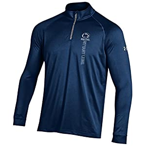 NCAA Penn State Nittany Lions Boy's Tech Quarter Zip Tee, Navy, XX-Large