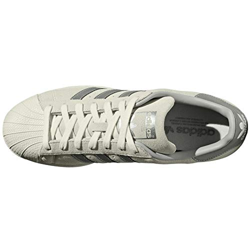 Suede White 1 3 Eu Adidas Supplier Synthetic Off Colour Uomo 39 Formatori Superstar FEwqwXB
