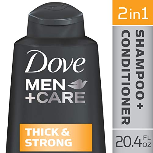 DOVE HAIR Men+Care Thick And Strong 2 In 1 Shampoo And Conditioner, 20.4 Ounce