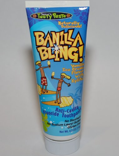 Vanilla Bling Dairy and Gluten-free Toothpaste , 4.2 Oz