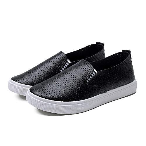 Hasag Zapatos Deportivos Zapatos de Tela Zapatos de Mujer Casual de Moda Zapatos de Estudiante black