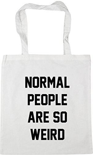litres 42cm so x38cm Beach Bag Shopping Tote are White weird Gym 10 people HippoWarehouse Normal vqPOOA