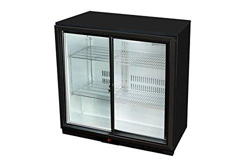 Kühlschrank Outdoor : Untertheken kühlschrank schiebetür schwarz gcuc amazon