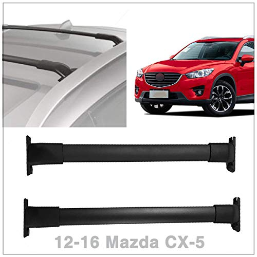 Locking Roof Rack Aluminum Cargo Bars System Silver Fit Mazda CX-5 2012 2013 2014 2015 2016