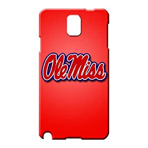 samsung note 3 Eco Package Durable Fashionable Design phone case skin ole miss rebels