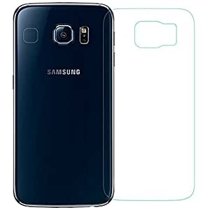 Supremery Galaxy S6 Back Schutzglas aus echtem Glas - Displayschutz ,Schutzfolie aus Glas für Samsung Galaxy S6 - Härte 9H, 0.3mm