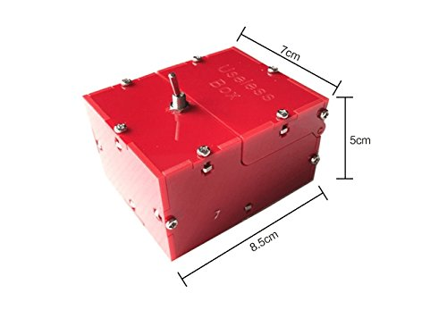 Fully Asembled Mini Edition Useless Box For Birthday And Party Gift Toy Game (Red)