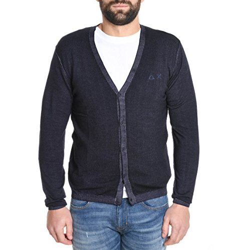Sun 68 Men's 2615155 Blue Wool