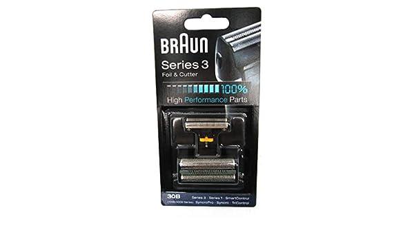 BRAUN - Lamina + cuchilla afeitadora Braun serie 3 7000-80: Amazon ...
