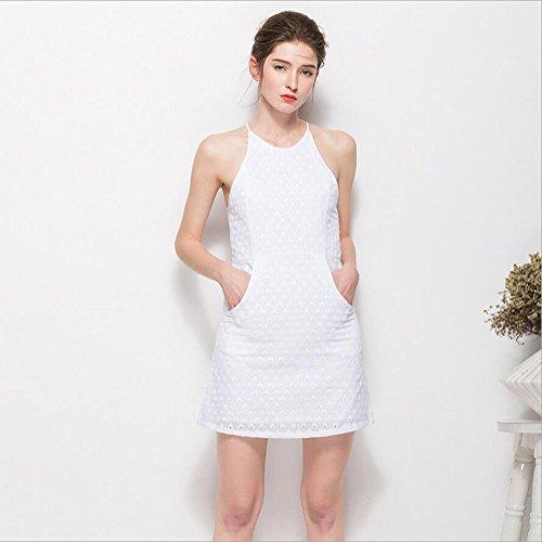 Nuova senza e S primavera maniche Sling L L Pigiama YAN da 2018 bianco cotone da Dimensione M donna notte Camicia Colore sexy 1 XL 1 autunno nqC60w7