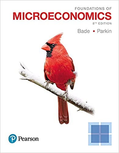 Foundations Of Microeconomics 8th Edition 9780134491981