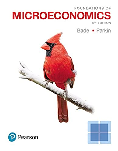 foundations of microeconomics 8th edition 9780134491981 rh amazon com Microeconomics For Dummies Macroeconomics Study Guide