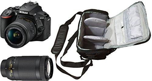 D5600 DSLR Camera + AF-P 18-55mm VR + AF-P 70-300mm f/4.5-6.3G VR + KamKorda Pro Camera Bag