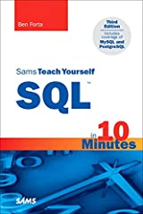 Sams Teach Yourself SQL in 10 Minutes (3rd Edition) Paperback