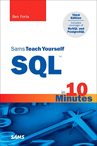 Sams Teach Yourself SQL in 10 Minutes (3rd Edition) by Sams Publishing