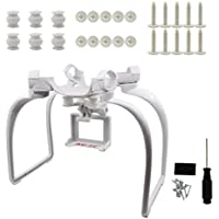 BTG Upgrade Extended Landing Gear and Camera Holder with Gimbal Kit for Hubsan H501S RC Quadcopter (Color: White)