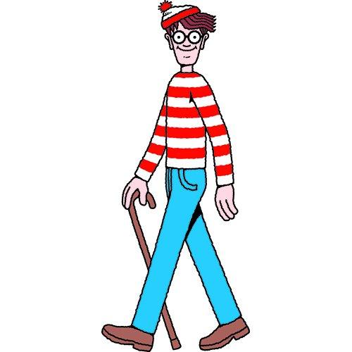 (SC758 Wheres Waldo Cardboard Cutout)
