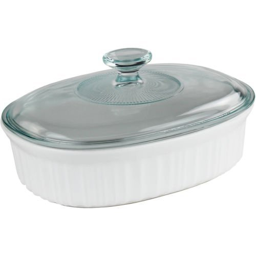 (CorningWare French Wite 1.5 quart Oval)