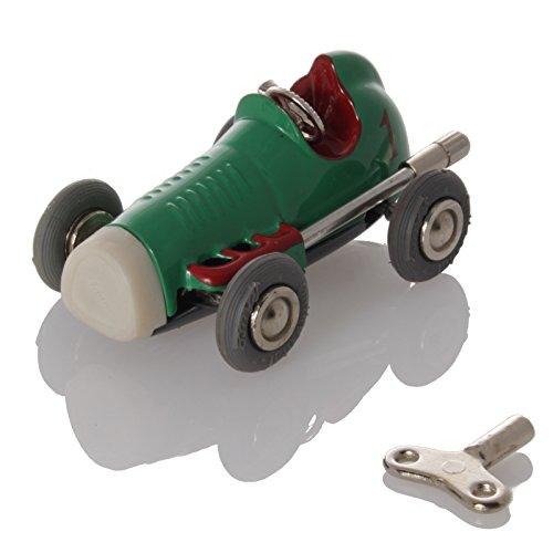 Schuco Tin Toys (Schuco MicroRacer Midget USA green - Mechanical Tin Toy)