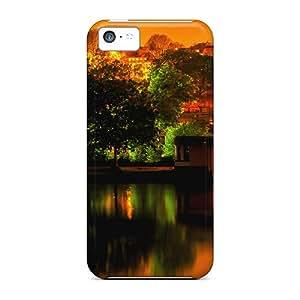 Premium Tpu Illuminated Night Cover Skin For Iphone 5c