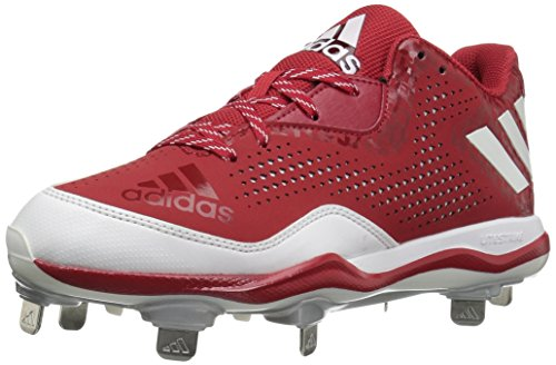new arrival cba43 fb09c adidas Mens Freak X Carbon Mid Baseball Shoe Power RedWhiteSilver  Metallic APTUoh4RvR