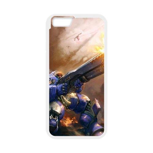 Starcraft coque iPhone 6 4.7 Inch cellulaire cas coque de téléphone cas blanche couverture de téléphone portable EEECBCAAN01068