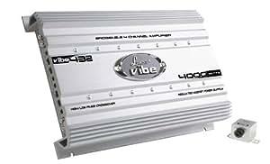Lanzar VIBE432 Vibe - Amplificador para coche Mosfet (4000 W, 4 canales)