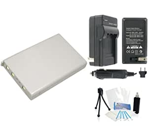 UltraPro EN-EL5 High-Capacity Replacement Battery with Rapid Travel Charger for Nikon Coolpix P80 P90 P100 P500 P510. Also Includes: Camera Cleaning Kit, Camera Screen Protector, Mini Travel Tripod