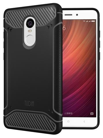 best service f28b1 b5a77 TUDIA TAMM Case for Xiaomi Redmi Note 4 - Black [TD-TPU3854]