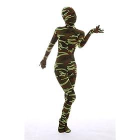 - 41qVQeMeD2L - Halloween Dress Up Lycra Spandex Zentai Costume Full Printed Camouflage Cosplay Bodysuit