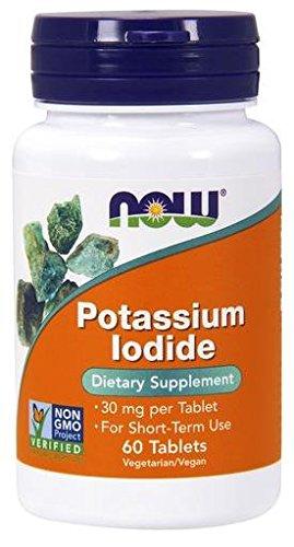 Potassium Iodide 30mg Foods Tabs