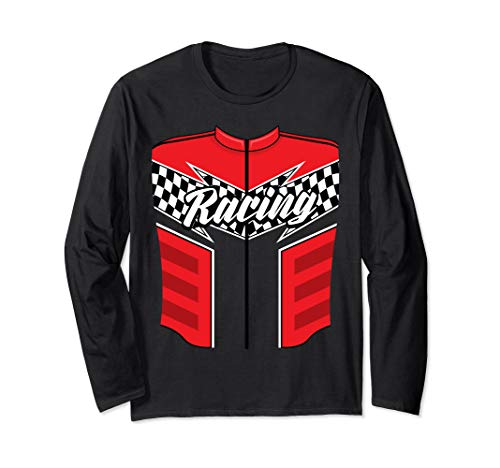 Cute Race Car Driver Halloween Costume Shirt Drag Racer Gift -