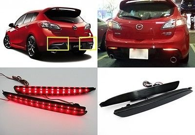 Mazdaspeed 3 Oem Led Tail Lights - 1