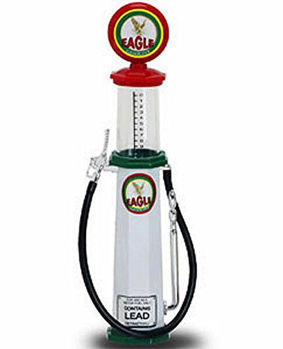 - 98612 Yatming - Cylinder Gas Pump Eagle 0w6185sb44 2 (1/18 8s3lqinz scale diecast model, White) 98612 diecast car model 98612 YATMING ROAD SIGNATURE - Cylinder Gas Pump Eagle