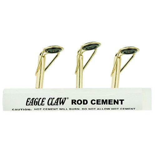 Tip Rod Kit (Eagle Claw Rod Tip Repair Kit with Glue, Gold)