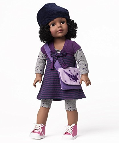 """Madame Alexander Cap and Stripes Wig 18"""" Wig Doll"""
