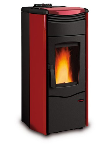 Estufa termostufa en Pellets de Melinda Idro Steel La Nordica Extraflame