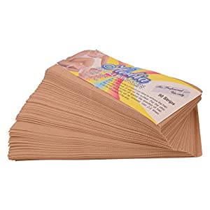 Herbia Aroma Waxing Strips Hair Remover Non-Wooven Premium Strips 90 Strips