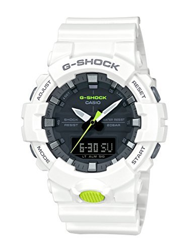 Casio GA800SC-7A G Shock Super Illuminator Men's Watch White 54.1mm Resin